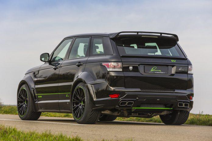 Lumma Range Rover Sport SVR rear