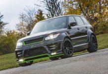 Lumma Range Rover Sport SVR front
