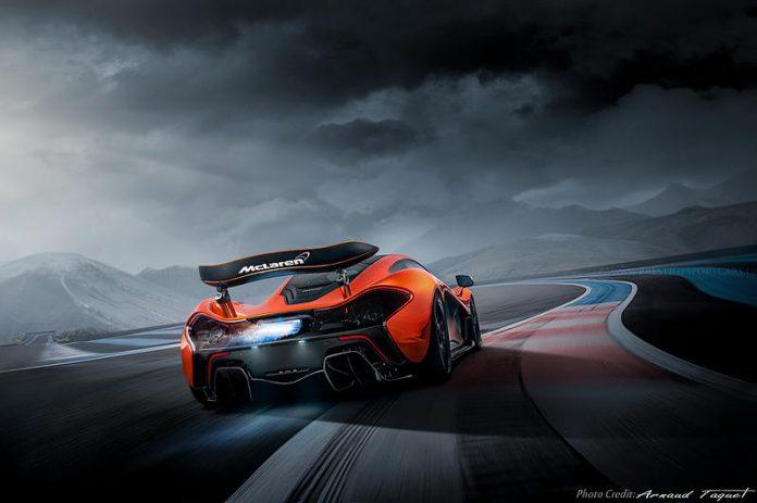 MSO McLaren P1 rear