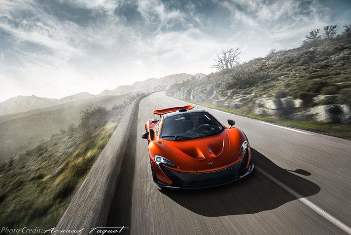 MSO McLaren P1 front