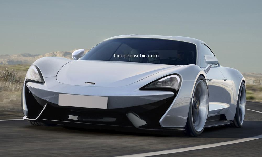 McLaren 570S four-door