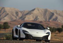 White McLaren 650S Spider Al Sahara 79