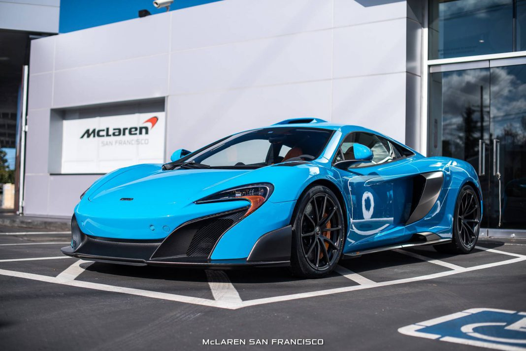 Mexico Blue McLaren 675LT