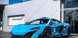 Mexico Blue McLaren 675LT