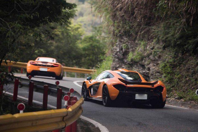 McLaren P1 and 12C
