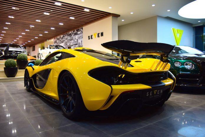 McLaren p1 for sale in Saudi Arabia rear