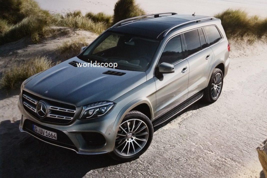 Mercedes-Benz GLS leak