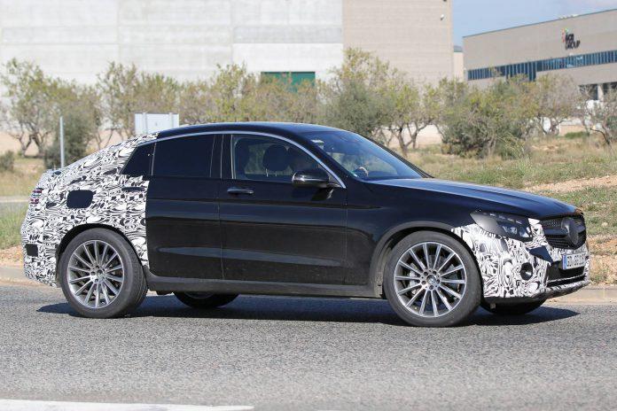 Mercedes-Benz GLC 450 AMG Coupe spy shot