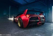 Widebody Ferrari 458 Italia