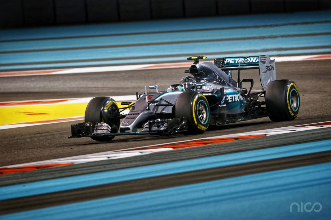 Nico Rosberg Abu Dhabi GP 2015