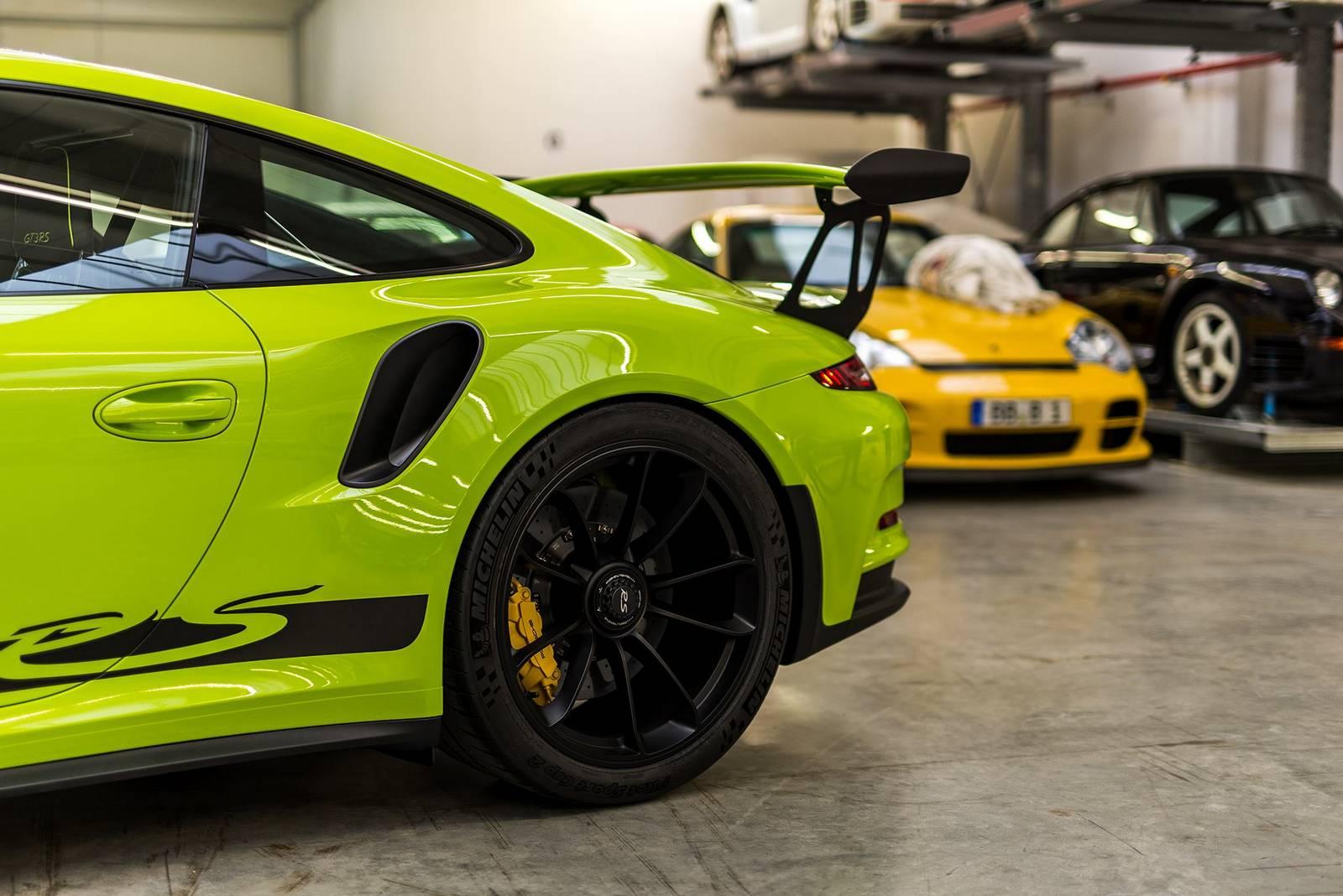 Birch Green Porsche 911 Gt3 Rs By Porsche Exclusive Gtspirit