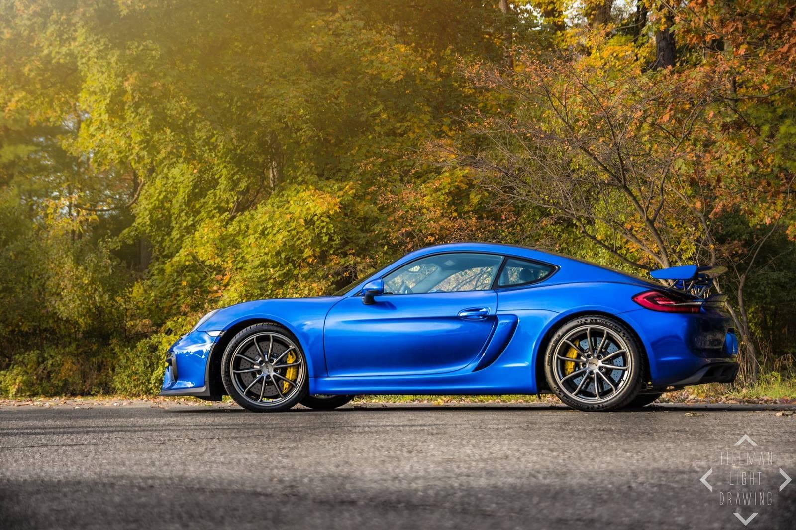 Photo Of The Day Stunning Blue Porsche Cayman GT4! , GTspirit