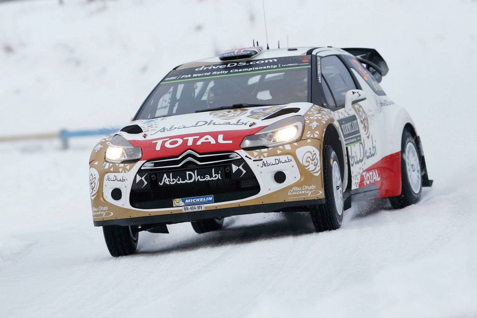 Rally Sweden 2015 Citroen DS3 WRC