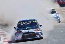 Petter Solberg Rallycross of Argentina