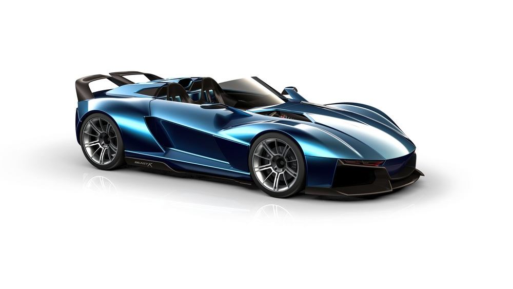 Rezvani Beast X with 700hp