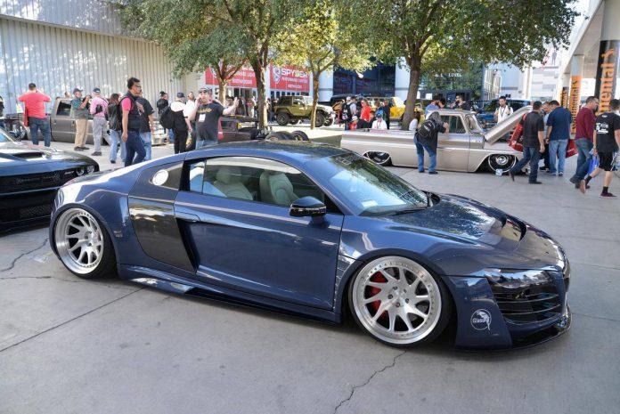 SEMA 2015 Audi R8 widebody