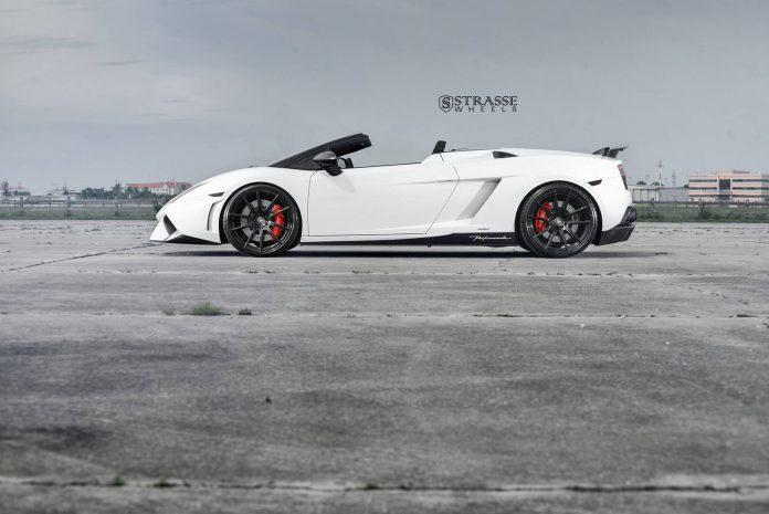 Lamborghini Gallardo Spyder Performante Strasse Wheels
