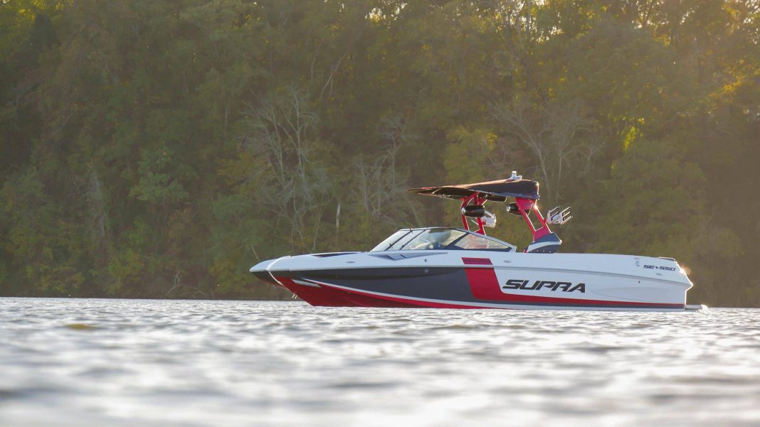 Supra boats reveal roush powered super boat with raptor engine