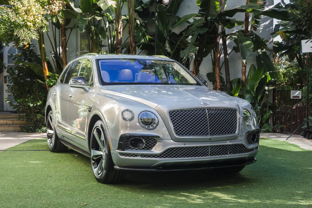 Bentley Bentayga First Edition front