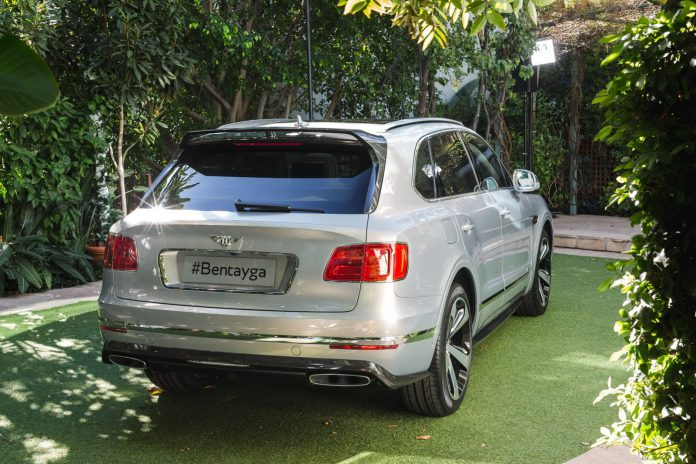 Bentley Bentayga First Edition rear