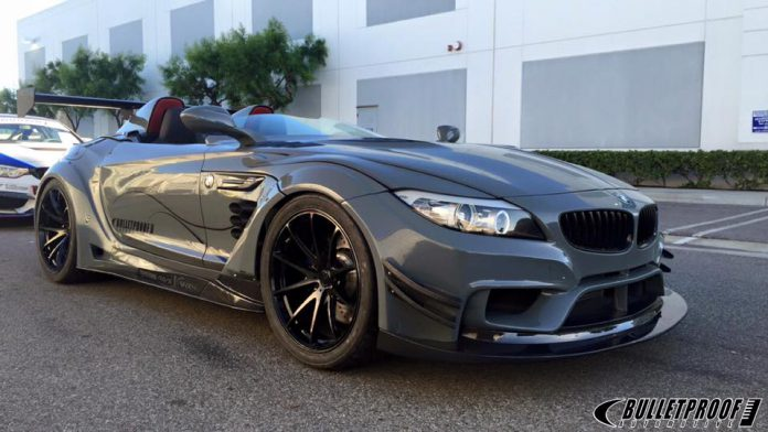Bulletproof Automotive S Bmw Z4 One Of Sema S Craziest Creations Gtspirit