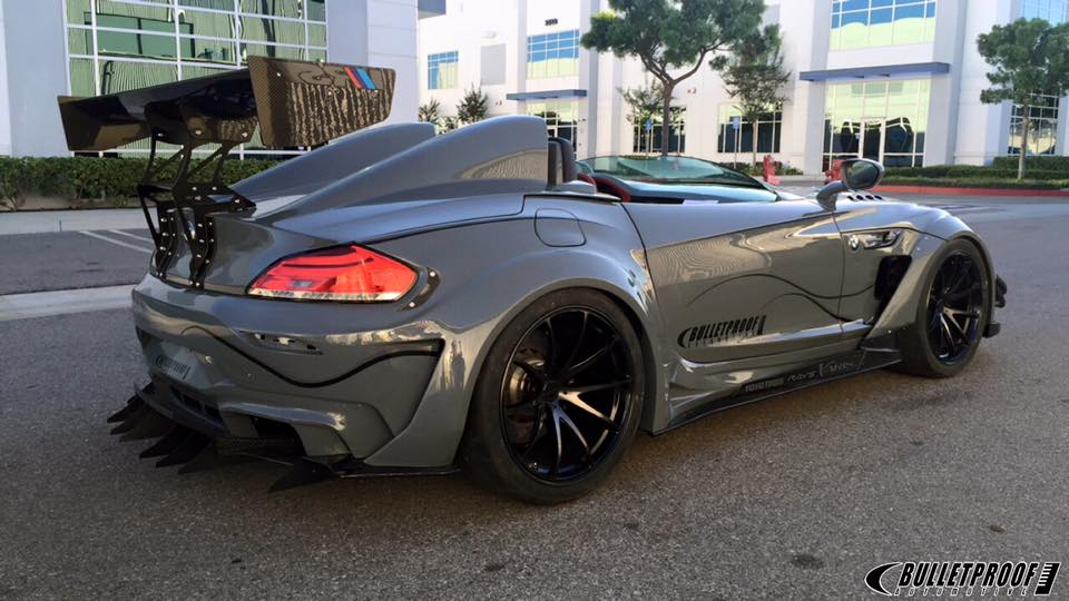 Bulletproof Automotive S Bmw Z4 One Of Sema S Craziest