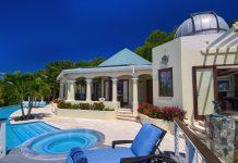 Virgin Islands mansion front