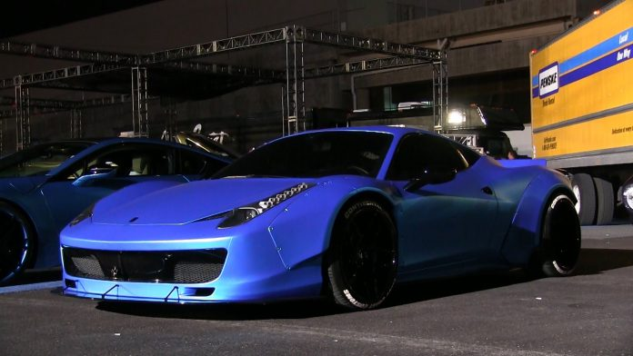 Video Up Close With Justin Bieber S Liberty Walk Ferrari 458 Italia