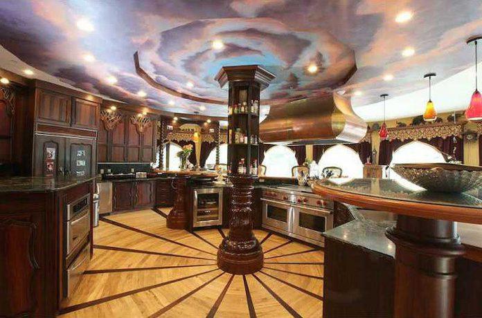 $45 million castle for sale kitchen