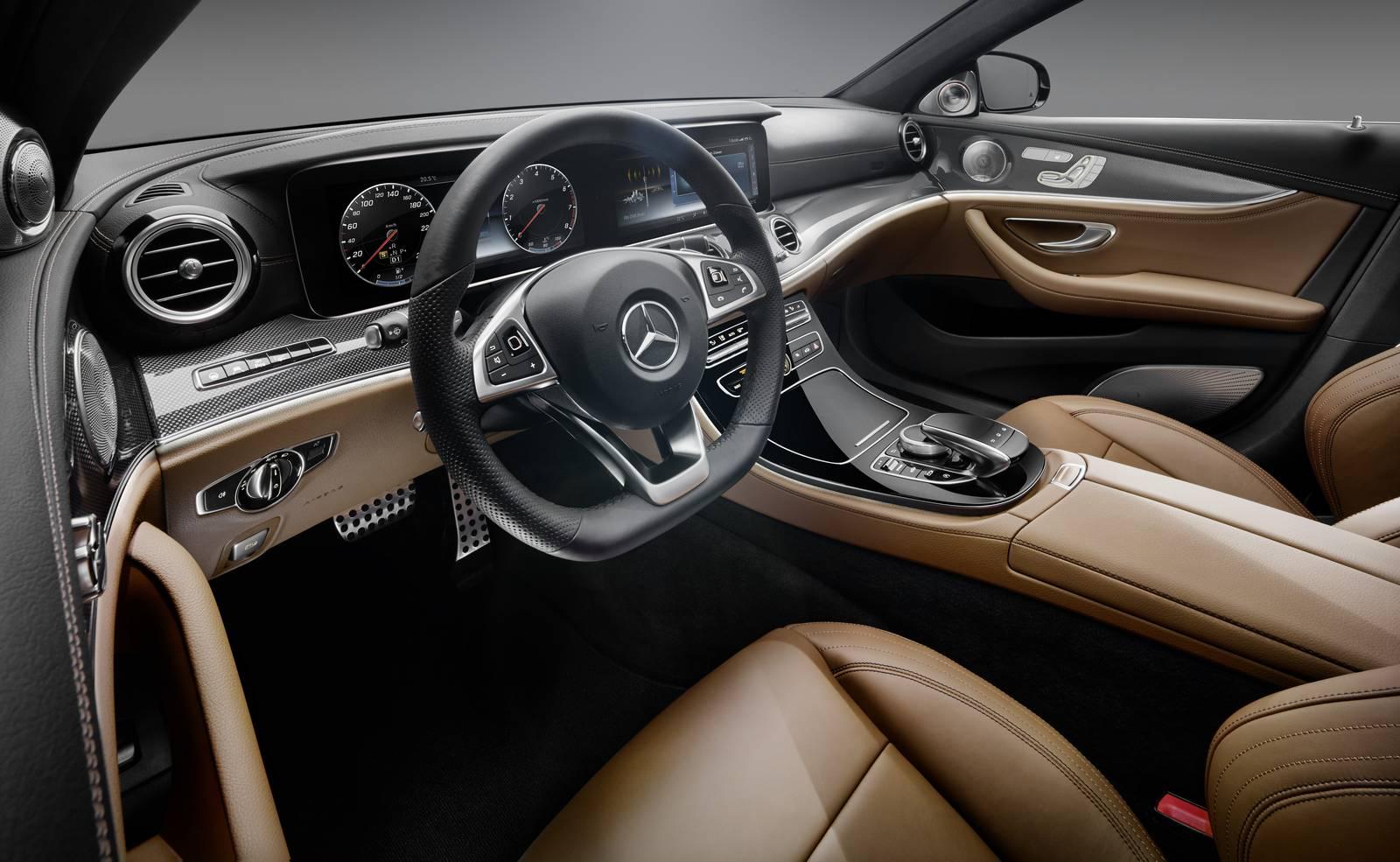 2017 mercedes benz e class design preview gtspirit for E interior design