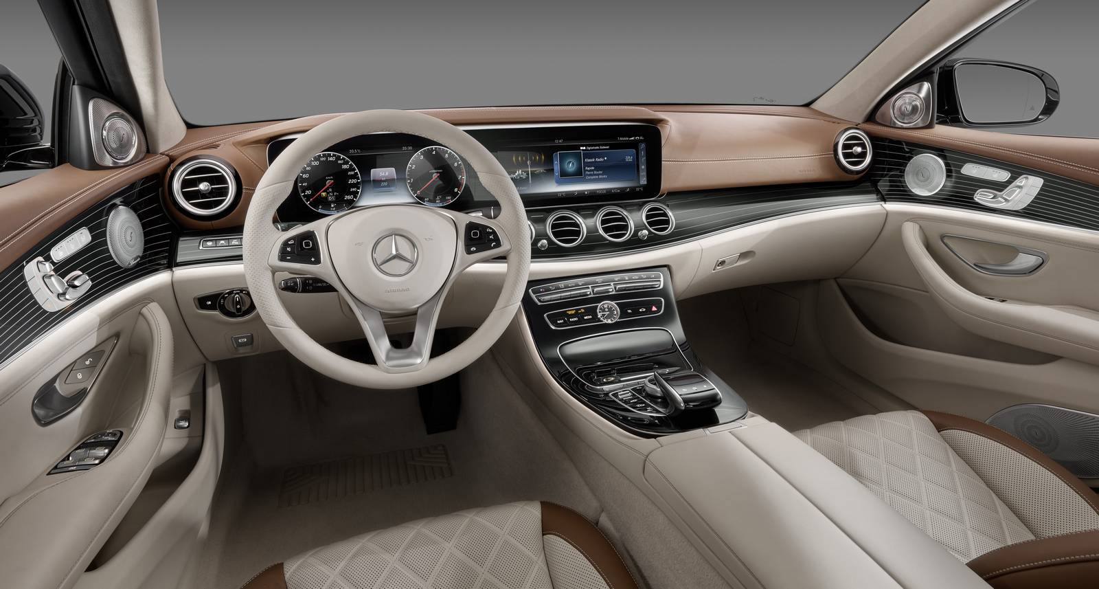 2017 mercedes benz e class exterior design revealed gtspirit. Black Bedroom Furniture Sets. Home Design Ideas