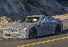 2017 Nissan GT-R spy shot
