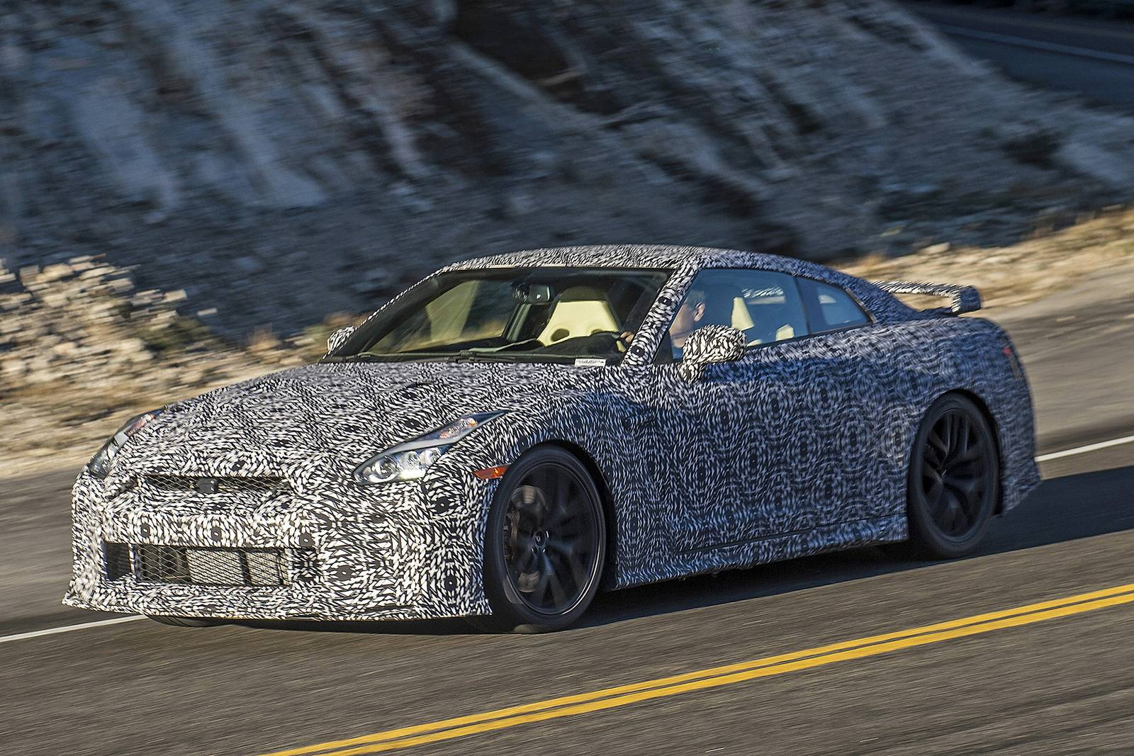 2017 Nissan GT-R First Spy Shots