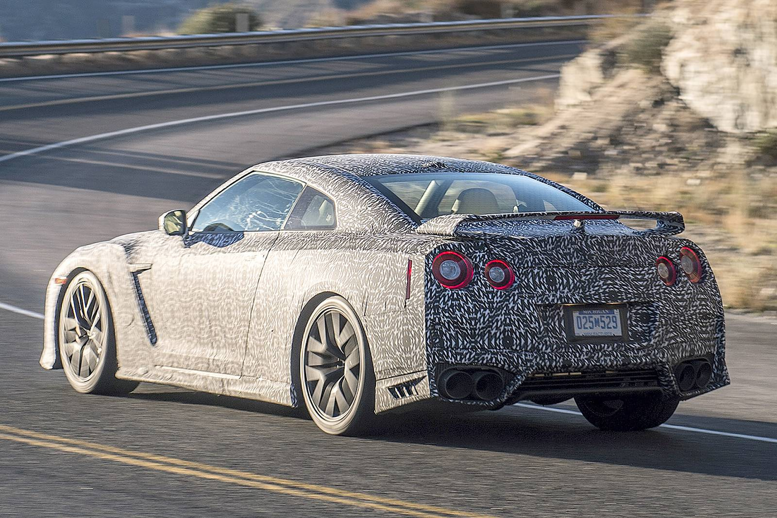 2017 nissan gt r first spy shots gtspirit. Black Bedroom Furniture Sets. Home Design Ideas