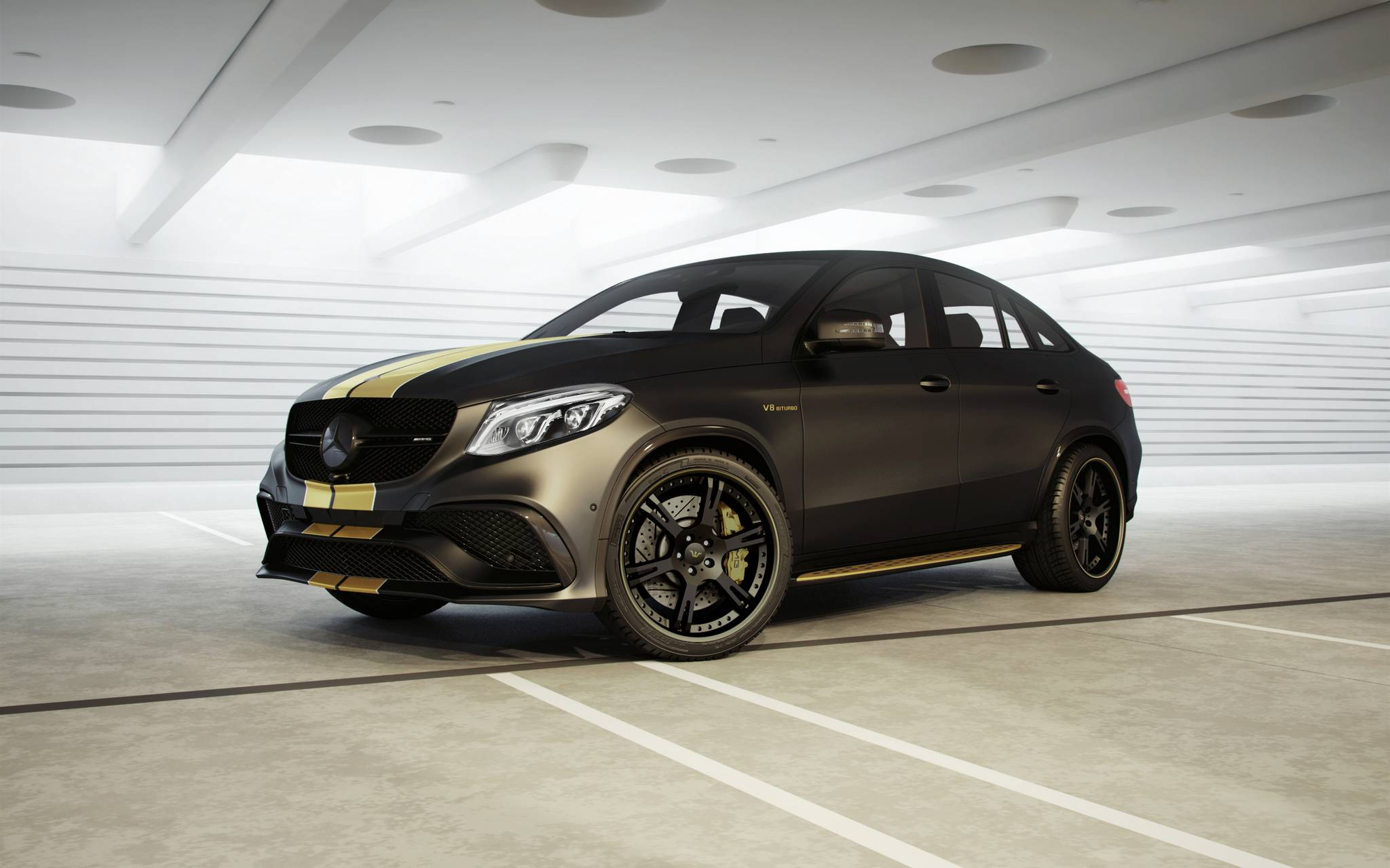 official 792hp mercedes amg gle 63 by wheelsandmore gtspirit. Black Bedroom Furniture Sets. Home Design Ideas