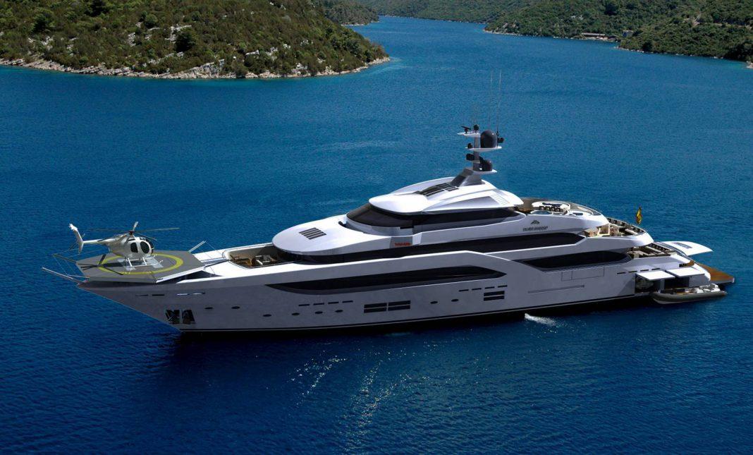 Astondoa 197 megayacht