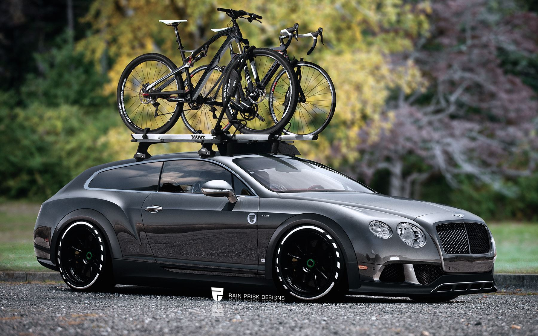 Bentley Continental Gt Wagon Wildly Imagined Gtspirit