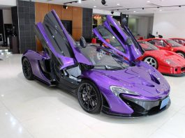 Purple McLaren P1 Bingo Sports