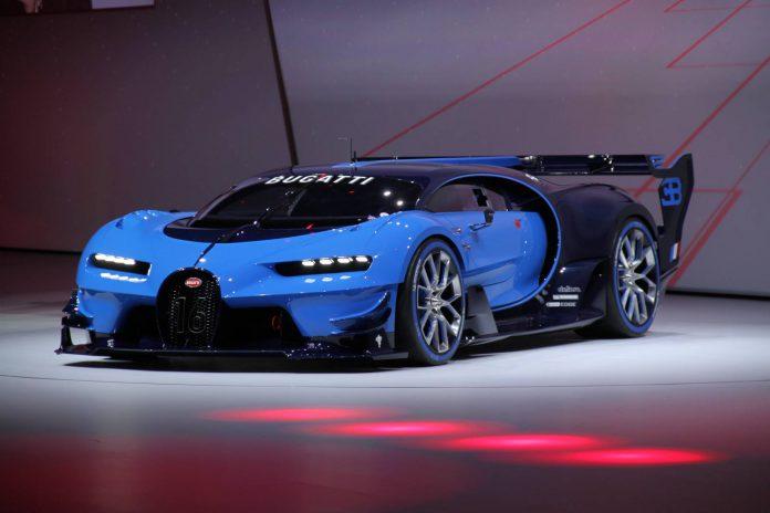 Bugatti Vision Gran Turismo Frankfurt 2015