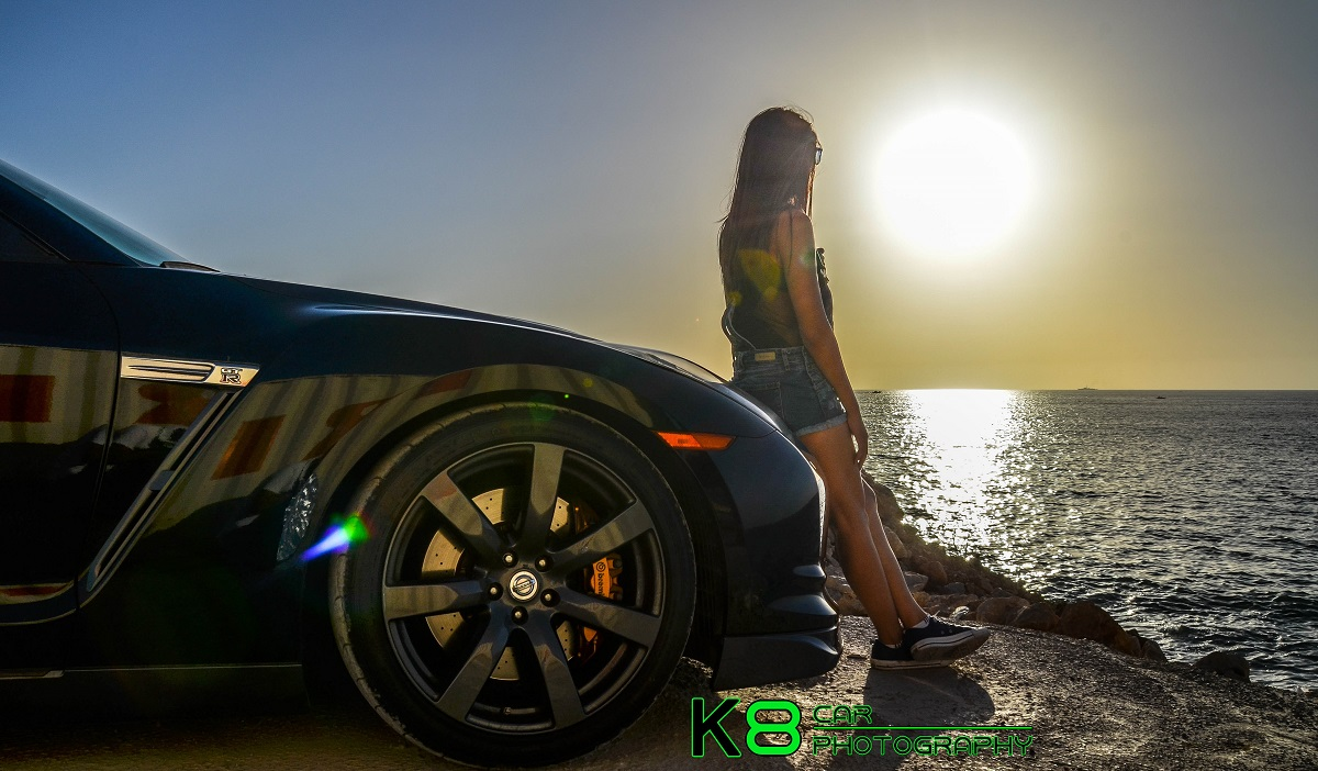 cars and girls: sexy lebanese model and the nissan gt-r - gtspirit