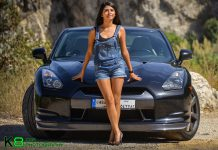 Cars and Girls Nissan GT-R 3