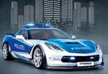 Corvette C7 Police Car