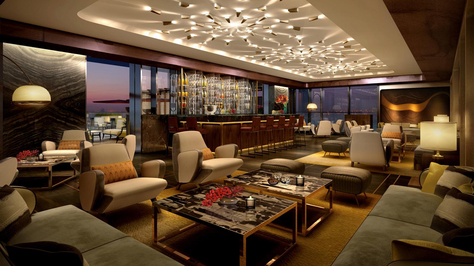 Four seasons hotel dubai international financial centre for Hotel club decor