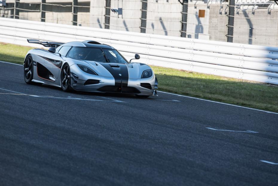 Koenigsegg One:1 at Suzuka Circuit Japan