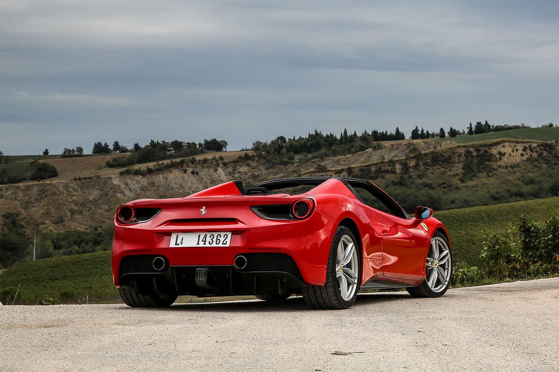 Stunning Ferrari 488 Spider Top Down Pictures Gtspirit