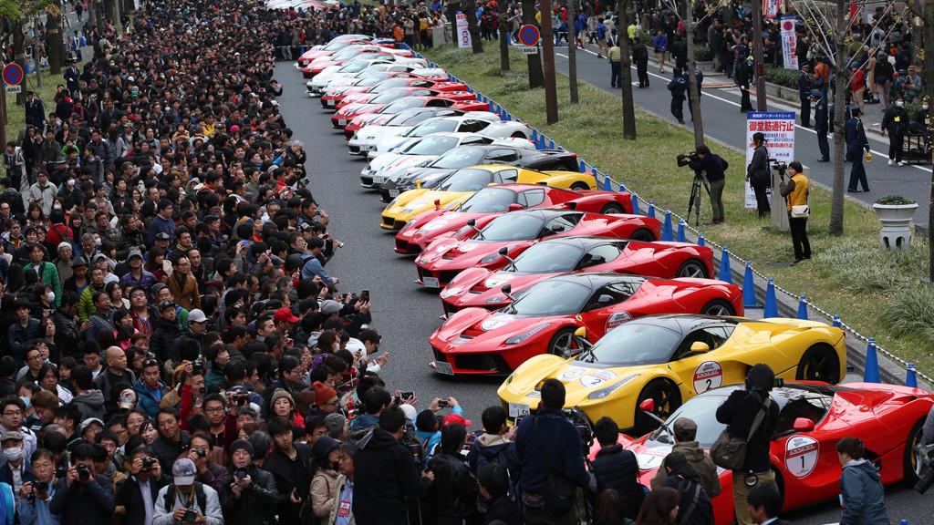 Ferrari Japan Parade