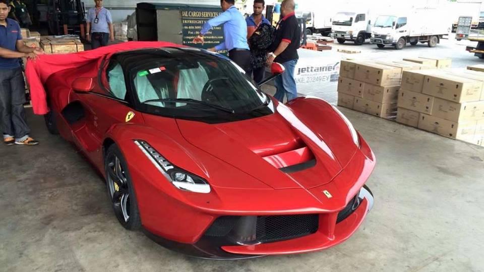 Second Ferrari LaFerrari Arrives in Malaysia