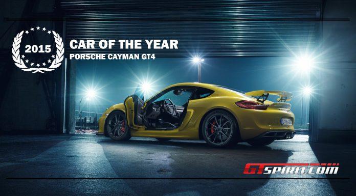 GTspirit Awards 2015 Car of the Year