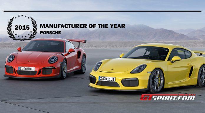 GTspirit Awards 2015 Manufacturer of the Year