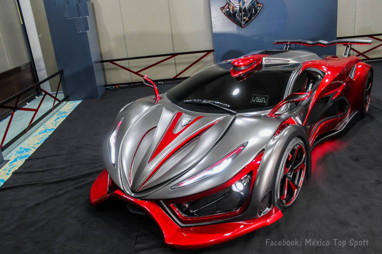 New Mexican Inferno Supercar Revealed With 1 400 Hp Gtspirit